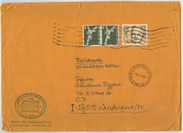 LETTERA  VIAGGIATA    DALLA  GERMANIA   PER  LANDRIANO  (PV)   1983 - Briefe U. Dokumente