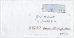 LETTERA   PRIORITARIA    FRANCIA  PER  BASSANO  DEL  GRAPPA  (VI)    2016 - Collections (en Albums)