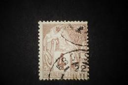 Alphée Dubois N°48 4 Cts Oblitéré Aboisso Cote D'ivoire - Alphée Dubois