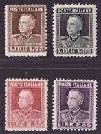 Regno, Serie Ordinaria Del 1927 Nuova **   -DY58 - Ungebraucht