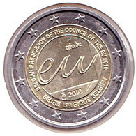 2 Euros Commémoratif 2010 : Belgique - Belgien