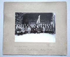SLOVENIA - MARBURG - KATOLISCHER GESELLEN VEREIN 1899. - Cardboard Photo HEINRICH KRAPEK - Oud (voor 1900)