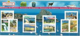 France à Voir: St Malo,Canal Du Midi,St Tropez,Grande Chartreuse,Cascade Doubs,etc.B F 10 Timbres Neufs ** 2007 - Ungebraucht