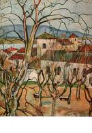 "CPM - St BERNARD - ""Village De ...1929"" Oeuvre De Suzanne VALADON - Andere Gemeenten"