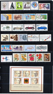 Germany 1982. Complete Commemorative Year Set. MINT (MNH)** 29 Stamps + 1 Sheet - Ungebraucht