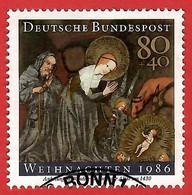 BRD 1986  Mi.Nr. 1303 , Weihnachten / Christmas - Gestempelt / Fine Used / (o) - Gebraucht