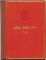 DDR 1953, Marx-Büchlein Mit Mi.Nr. S344-353 Ungestempelt, Mi. 85 Euro - Ungebraucht