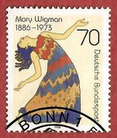 BRD 1986  Mi.Nr. 1301 , 100. Geb. Von Mary Wigman - Gestempelt / Fine Used / (o) - Gebraucht
