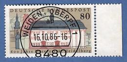 BRD 1986  Mi.Nr. 1299 , 600 Jahre Universität Heidelberg - Gestempelt / Fine Used / (o) - Gebraucht
