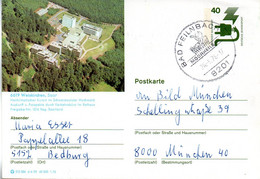 "(BP3)BRD Bildpostk.Wz40(Pf)olivgrün""Unfallverhütung"" P120 515586 D4/59 ""6619 Weiskirchen,Saar"" SSt 26.5.76 BAD FEILNBACH - Bildpostkarten - Gebraucht"