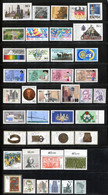 """Germany 1987. Complete Year Set (incl. """"Famous Women"""" & """"Sights""""). MINT (MNH)** 41 Stamps - Ungebraucht"""