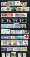 """Germany 1988. Complete Year Set (incl. """"Famous Women"""" & """"Sights""""). MINT (MNH)** 50 Stamps - Ungebraucht"""