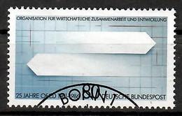 BRD 1986  Mi.Nr. 1294 , 25 Jahre Organisation Entwicklung (OECD) - Gestempelt / Fine Used / (o) - Gebraucht