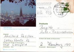 "(BP3)BRD Bildpostk.Wz40(Pf)olivgrün""Unfallverhütung"" P120 515586 D4/60 ""4800 Bielefeld"" MWSt 24.4.76 COESFELD - Bildpostkarten - Gebraucht"