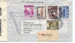 Peru - Censored Cover Sent To Switzerland 1942.  H-1697 - Peru
