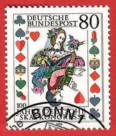 BRD 1986  Mi.Nr. 1293 , 25 Jahre Deutsche Skatkongresse - Gestempelt / Fine Used / (o) - Gebraucht