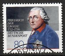 BRD 1986  Mi.Nr. 1292 , 200. Todestag Von König Friedrich Dem Großen - Gestempelt / Fine Used / (o) - Gebraucht