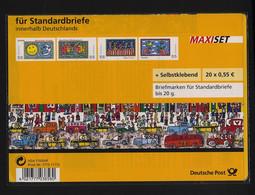 Bund, Markenheftchen MH 73 A SB Im Blister Postfrisch - James Rizzi - Markenheftchen