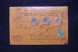 ALLEMAGNE - Enveloppe En Chargé De Lahr Pour La France En 1899 - L 109221 - Briefe U. Dokumente
