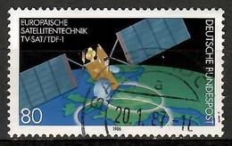 BRD 1986  Mi.Nr. 1290 , Europäische Satellitentechnik - Gestempelt / Fine Used / (o) - Gebraucht