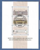 BRD 1986  Mi.Nr. Block 20 (1287 / 89) , Grundgedanken Der Demokratie - Gestempelt / Fine Used / (o) - Gebraucht