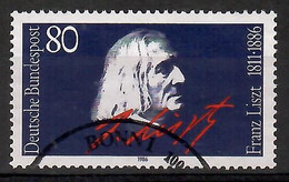 BRD 1986  Mi.Nr. 1285 , 100. Todestag Von Franz Liszt - Gestempelt / Fine Used / (o) - Gebraucht