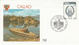 PEROU VISITE PAPE JEAN PAUL à CALLAO 1985 - Peru