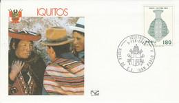 PEROU VISITE PAPE JEAN PAUL à IQUITOS 1985 - Peru