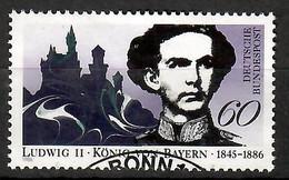 BRD 1986  Mi.Nr. 1281 , 100. Todestag Von König Ludwig II. Von Bayern - Gestempelt / Fine Used / (o) - Gebraucht