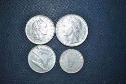 Italie 1954/73 Pièces De Monnaie - Unclassified