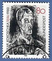BRD 1986  Mi.Nr. 1272 , 100.Geb. Von Oskar Kokoschka - Gestempelt / Fine Used / (o) - Gebraucht