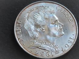 Belle Pièce ARGENT De 100 F MARIE CURIE De 1984 - N. 100 Francs
