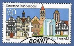 BRD 1986  Mi.Nr. 1271 , 1250 Jahre Bad Hersfeld - Gestempelt / Fine Used / (o) - Gebraucht