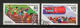 BRD 1986  Mi.Nr. 1269 / 70 , Leichtathletik-Europameisterschaften  - Gestempelt / Fine Used / (o) - Gebraucht