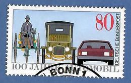 BRD 1986  Mi.Nr. 1268 , 100 Jahre Automobil - Gestempelt / Fine Used / (o) - Gebraucht