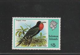 Salomon Solomon - Yvert  324  ** - Oiseaux - Solomoneilanden (1978-...)