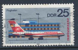 """RDA-25 Ans De La Compagnie """"Interflug"""" YT 2178 Obl./ DDR-25 Jahre Interfug Mi.Nr. 2517 Gest. - Gebraucht"""