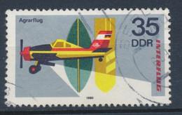 """RDA-25 Ans De La Compagnie """"Interflug"""" YT 2179 Obl./ DDR-25 Jahre Interfug Mi.Nr. 2518 Gest. - Gebraucht"""