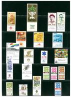 ISRAELE ISRAEL -  Piccolo Lotto  Collezione  - FRANCOBOLLI PERFETTI MNH - Ungebraucht (mit Tabs)