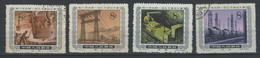CHINA Set Of  9 Stamps Used 1955 - Gebraucht