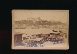 ##R - 19° Ancienne Photographie Sépia Hongrie BUDA ( Budapest) 1888 Ou 1889 - Oud (voor 1900)