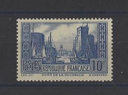 FRANCE. YT   N° 261  Neuf *   1929 - Ongebruikt
