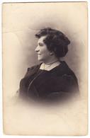 Antique Photo - PC Size - Bucuresti - Romania - Elderly Lady - Oud (voor 1900)