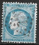 France-N°60A Variété Grande Cassure-Position 144 A2- Oblitéré - 1871-1875 Ceres