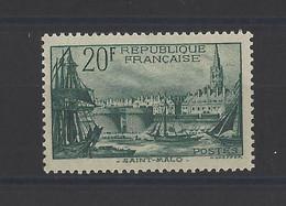 FRANCE. YT   N° 394   Neuf *   1938 - Ungebraucht