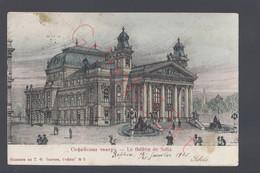Sofia - Le Théâtre De Sofia - Postkaart - Bulgarie