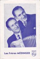 Les Frères Médinger Disque Philips Accordéonistes éditions  N° Voir Le Dos - Sänger Und Musikanten