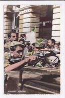 CP ALGERIE ALGER Fete De L'independance Auto Mitralleuse De L'armée De Liberation Nationale Boulevard Carnot - Algiers