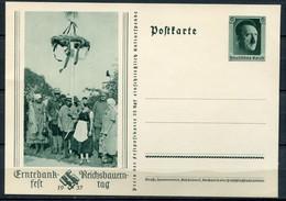 """German Empires,DR 1937 Ganzsache Erntedankfest Mi.Nr.P265""""Reichsbauerntag """"1 GS Blanco - Ganzsachen"""