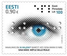Estonia Estland Estonie 2021 (21) 100th Anniversary Of The Estonian Federation Of The Blind - Estland